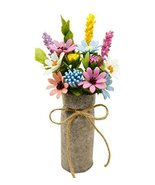 Artificial Flowers Decorative Bouquets Gorgeous Imitation Flowers - £11.75 GBP