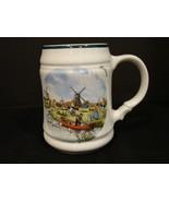 1984 Vintage Royal Schwabap Hand Decorated Windmill Holland Stein - $5.49