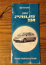 2004 2009 Toyota Prius Generation 2 Pocket Reference Guide Manual - $1.00