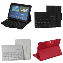 Bluetooth Keyboard Book Leather Case Cover For Samsung Galaxy Note Pro T... - $142.06