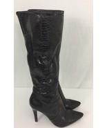 Nine West Women's Gallivant Tall Shaft Boot Brown ,7.5 M - $9.64