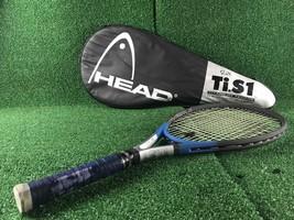 "Head Ti.s1 Tennis Racket, 27.25"", 4 3/8"" w/Cover *Read description* - $29.99"