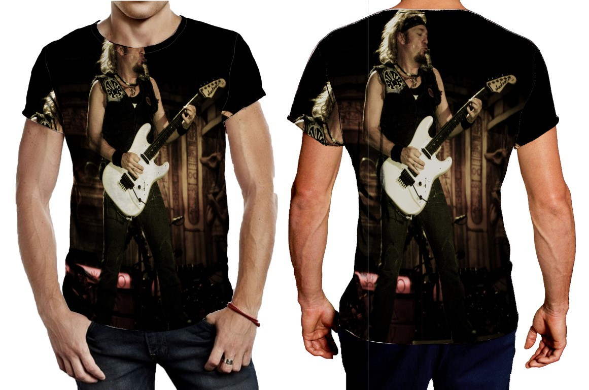 Primary image for Tee Men's Evil That Men Do Adrian Smith