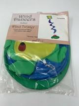 "Toland Wind Dancer Wind Twister Lily Pad Frog 12"" x 45"" Garden Flag #5144 - $15.34"