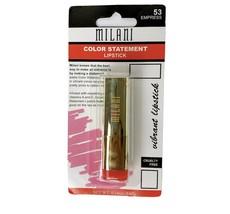 Milani Color Statement Lipstick Empress 53 Red Orange - $16.47
