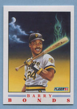1991 Fleer Baseball Pro Vision Barry Bonds #1 Pirates *29219* - $1.49