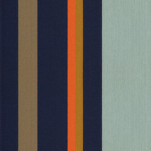 Maharam Upholstery Fabric Paul Smith Big Stripe Umber 1.75 yards 466174–... - $34.91