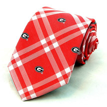 Georgia Bulldogs Men's Necktie University College Rhodes Red Neck Tie  - $31.68