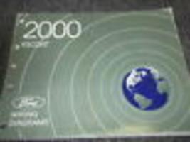 2000 Ford Escort Kabelbaum Elektrisch Diagramme Troubleshooting Service ... - $4.94