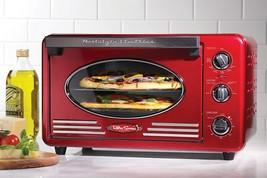 Nostalgia RTOV220RETRORED Retro 12-Slice Convection Toaster Oven - $93.76
