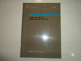 1991 Mercedes Modelle 201.028 190 E 2.3 Introduction Into Service Manuel... - $27.70