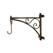 Metal Wall Bracket with Hook, 14-Inch - $24.99