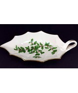 "LENOX China Holiday Dimension 10-1/8"" Leaf Dish Handled Dinnerware - $14.84"