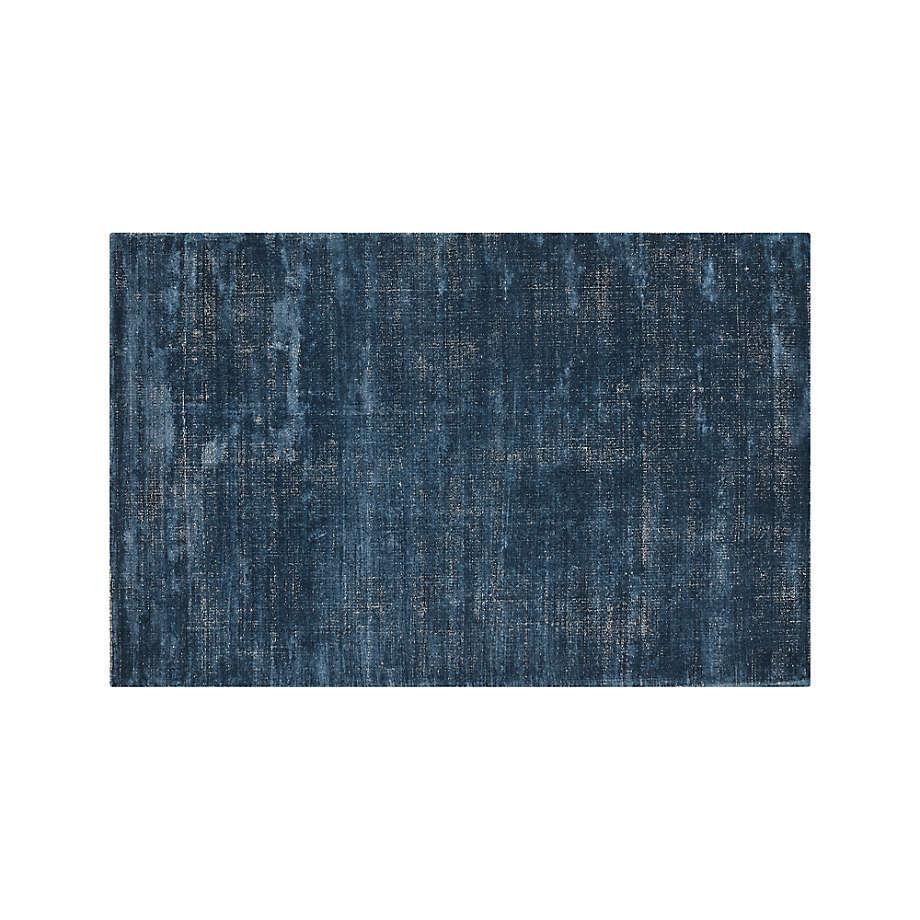 New 5x8 6x9 8x10 9x12 Vaughn Modern Blue Handwoven Wool-viscose Area Rug - $299.00 - $1,299.00