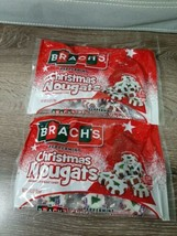 (2) Brach's Peppermint Christmas Nougats Handmade Nougat Candy 4.5oz Bags - $17.70