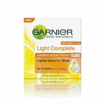 Garnier Skin Naturals Light Complete Serum Cream SPF 19, 45g - $16.99