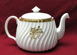 Minton China - Gold Rose Pattern - 3 Cup Teapot - $66.95