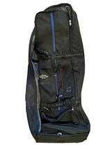 Callaway Premium Canvas Golf Travel Bag Soft Case (black / blue) - $99.00