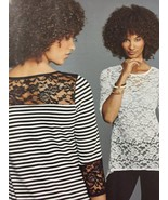 Simplicity Sewing Pattern 8016 Misses Ladies Knit Tops Size XXS-XXL Uncut - $16.11