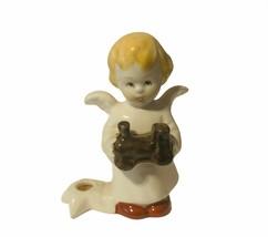 Goebel birthday angel Christmas figurine hummel West Germany candle hold... - $29.65