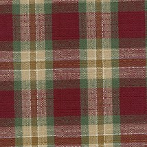 Longaberger Small Key Basket Orchard Park Plaid Fabric OE Liner Only New - $10.84