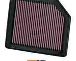 K&N Replacement Air Filter Fits Honda Civic 1.8L-L4; 2006-2011 33-2342