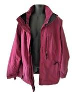 VTG Vintage 1980s 1990s Purple LL Bean Windbreaker Coat Jacket Petite Me... - $149.99