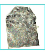 Sephora Collection TINSEL TIME makeup bag clutch sturdy flexible w snaps... - $17.82