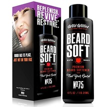 Wild Willie's Beard Conditioner and Softener For Men. All natural beard care tre image 1