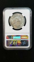 1834 Capped Bust Half Dollar 50C - Certified NGC AU58 Coin image 3