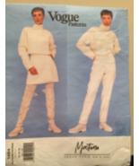 Vogue Paris Original 1484 Montana Misses' Jacket, Skirt, Pants Size 6-8-10 UNCUT - $25.00