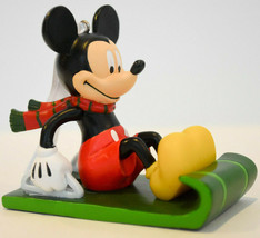 Hallmark  Mickey Mouse on Sled   2019 Gift Ornament - $12.25