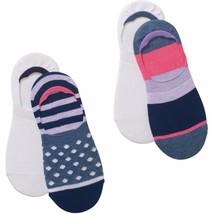 No Boundaries Mid Liner Socks 4 Pack Women's Shoe Size 4-10 Big Stripe  #19 - $9.89