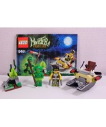 Lego Monster Fighters Set 9461 The Swamp Creature 2 Minifigures Complete - $31.11