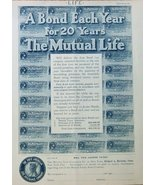 The First American Life Insurance Company. Mutual Life, 1904 print ad. f... - $14.84