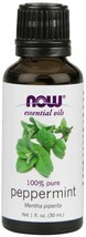 Now Foods Peppermint Oil Invigorating Aromatherapy Scent Steam Distilled... - $7.28