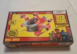 2004 TEEN TITANS ANIMATED DRILL DIVER VEHICLE 1st SERIES NIB NEW DC Comi... - $32.33