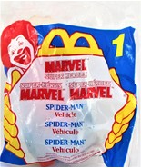 Vintage #1 McDonald's Marvel Super Heroes- 1996- Spiderman Vehicle- UNOP... - $9.89
