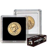 (100) BCW (2 x 2) COIN SNAPS - SMALL DOLLAR - BLACK - €40,07 EUR