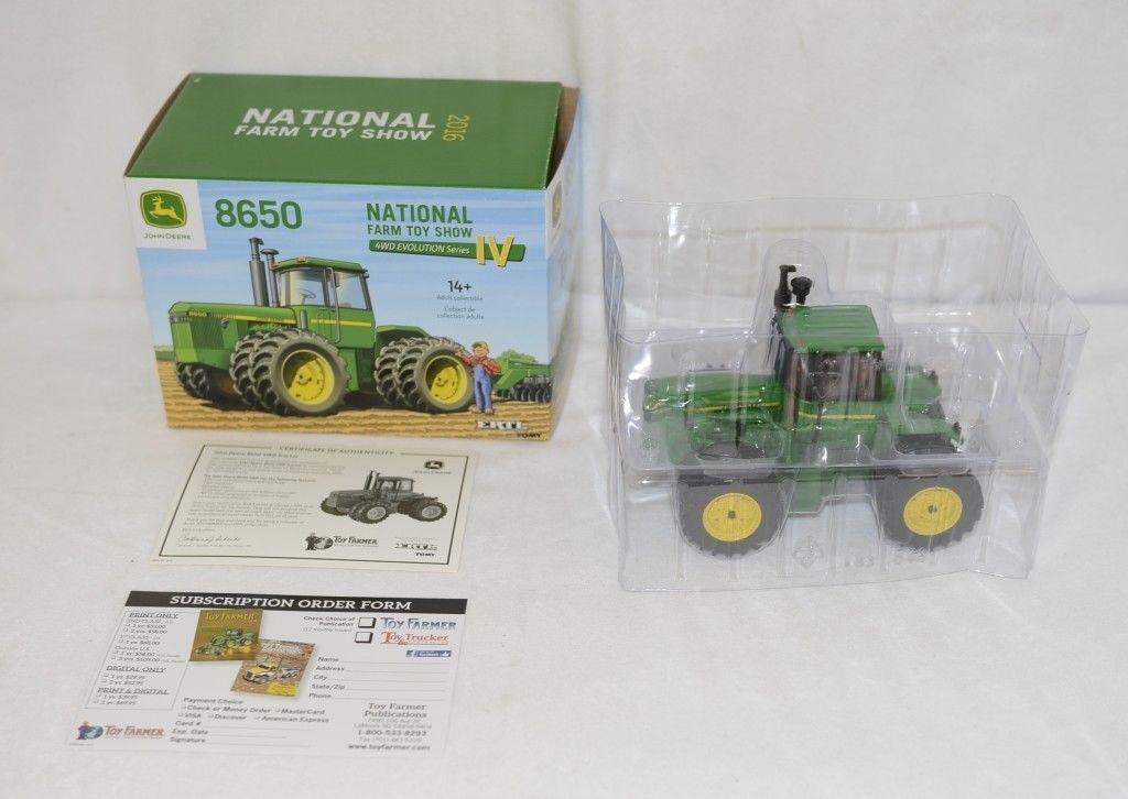 John Deere LP66139 National Farm Toy Show 2016 8650 4WD Evolution Series IV