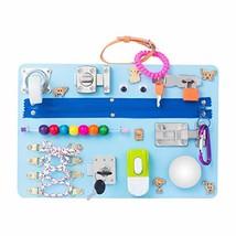 Montessori busyboard Busy Board- Sensory Board - Study Board -Wood Board... - $67.66