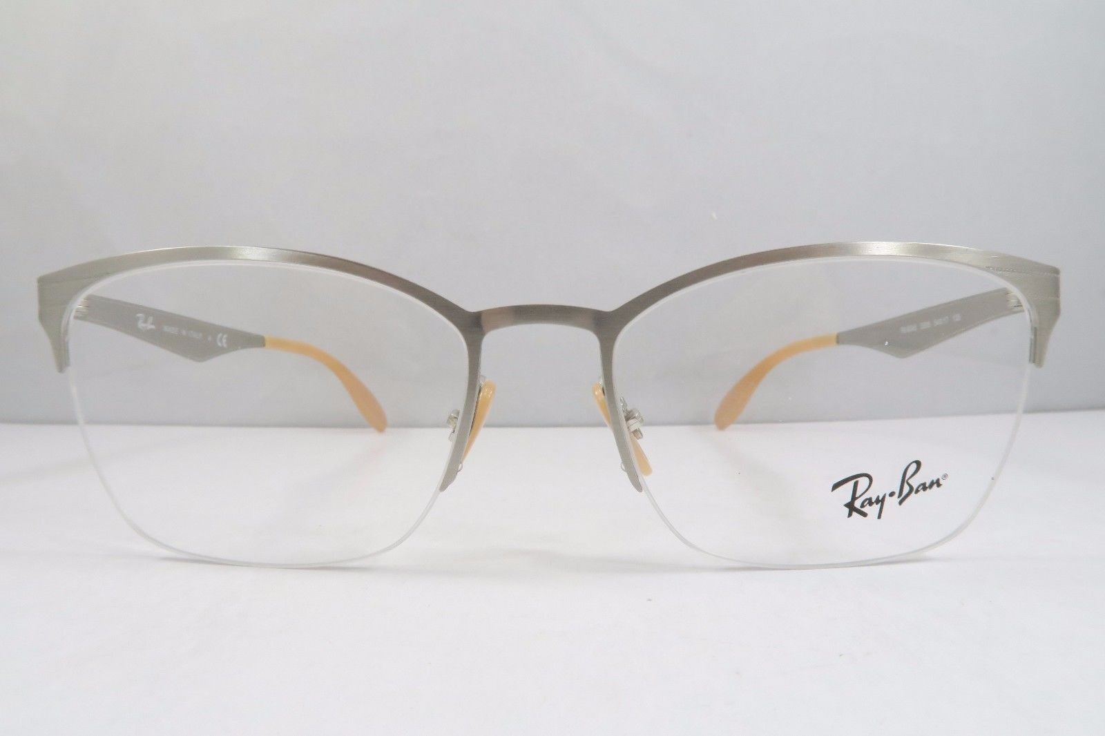 2bf047df40c Ray-Ban RB 6345 2595 Silver   Beige New and 50 similar items. S l1600