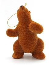 NEW MARTHA STEWART COLLECTION BROWN BEAR CHRISTMAS TREE FIGURINE ORNAMEN... - $7.79