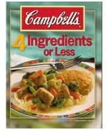 (78C4F20B2) Campbell's 4 Ingredients or Less  - $14.99