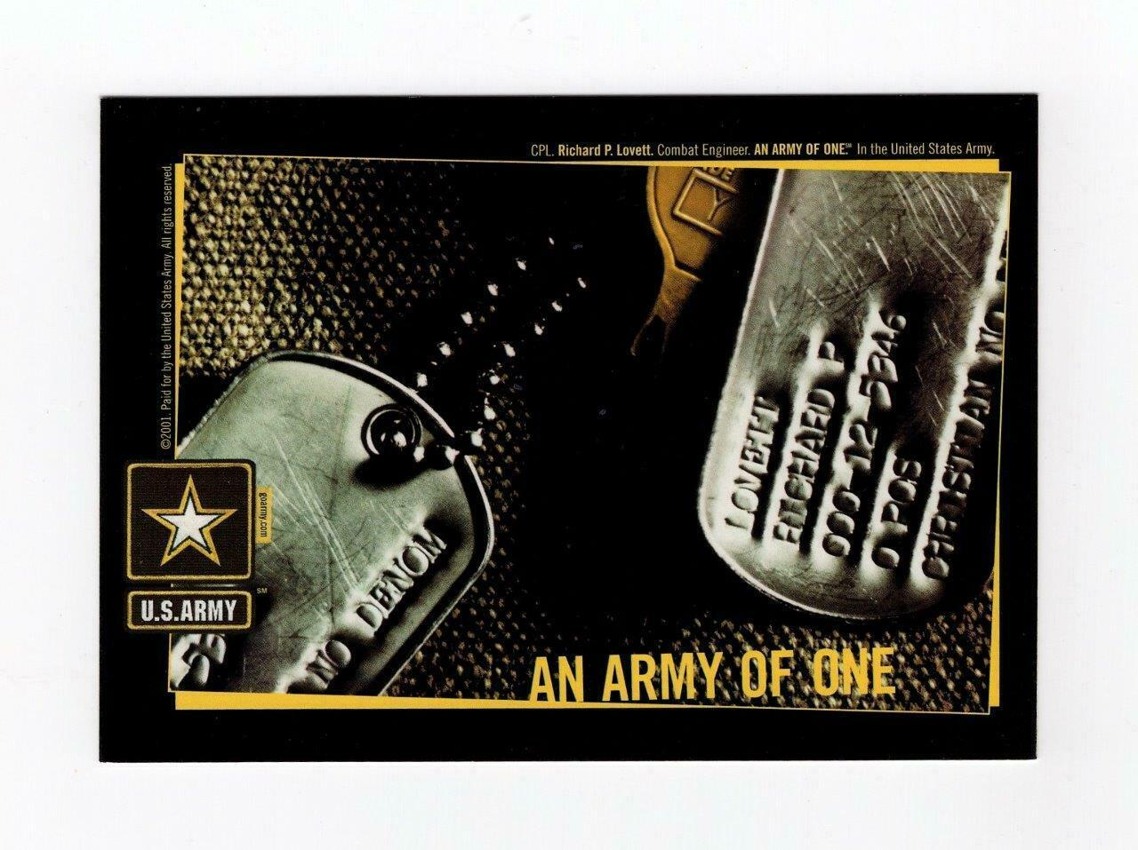 "FDC POSTCARD-""HONORING VETERANS-CONTINUE TO SERVE""-US ARMY OF ONE CARD  BK14"