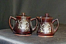 Tea pot, Sugar and Creamer Set AB 120 Vintage  image 4