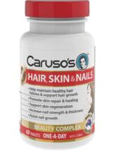Carusos Natural Health Hair Skin Nails 60 Tablets - $121.61