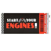 Racecar Racing Party Supplies Invitation 8 - $8.46