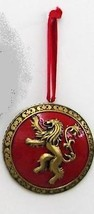 """Kurt Adler 3"""" Gold and Red Game of Thrones Metallic Shield Christmas Orn... - $9.64"""