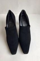 Stuart Weitzman Womens Shoes Black Formal Work Sz 8 Made In Spain - $28.98